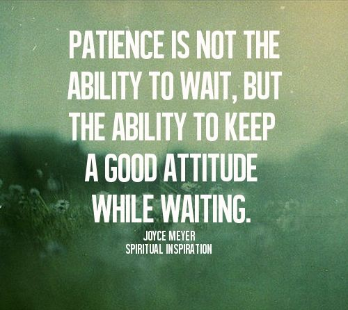 Manufacturing Leadership Training Patience