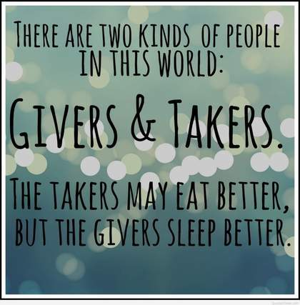 Manufacturing Leadership Givers Takers