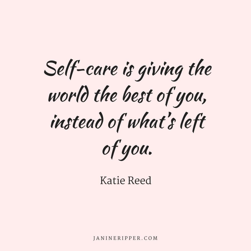 Manufacturing Leadership Training Self-Care