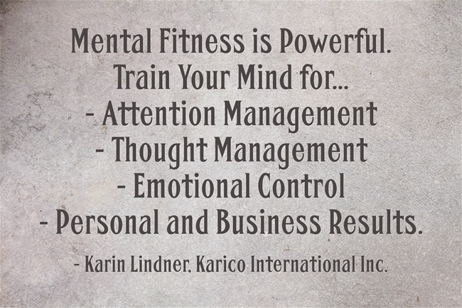 Manufacturing Training Mental Fitness